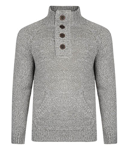 Smith and Jones - Pull - Homme Gris - Charcoal Marl