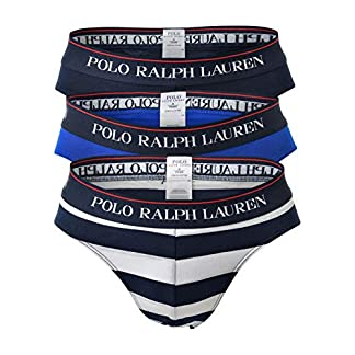 Polo Ralph Lauren Calzoncillos para Hombres Paquete de 3 – Low Rise Briefs, Stretch Cotton