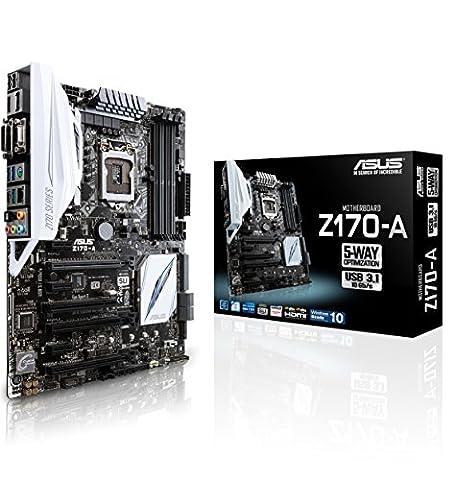 Asus Z170-A Mainboard Sockel 1151 (ATX, Intel Z170, 4x DDR4-Speicher,