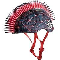 C-Preme Niños KRASH Vector Victor bicicleta casco, Black, One size