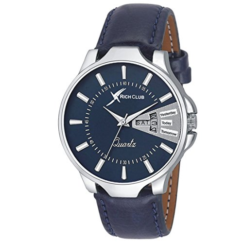 Rich Club Analouge Blue Dial Men's Watch - (COD-BLU-DD)