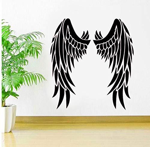 Wiwhy EngelVinyl Stickeinspirational Cawindow Aufkleber Himmel ReligiöseIdeen Schlafzimmer Interiowall Art Murals 57X63Cm