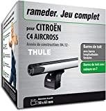Pack Rameder barres de toit SlideBar pour CITROËN C4 AIRCROSS (115064-09900-2-FR)