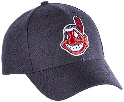 47 Erwachsene Kappe MLB Cleveland Indians MVP, Blau, OSFA, B-MVP08WBV-NY