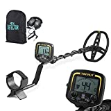 Metal Detector,KKmoon Underground Gold Digger,220mm Detection Depth,LCD Analogue Display Mode,Sound Indicator,Volume Control,Unwanted Target