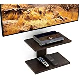 Riona Bluewud Stellar Plus Wall Set Top Box Stand/TV Entertainment Unit (Wenge)