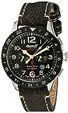Ingersoll Unisex Analog Automatik Uhr mit Leder Armband IN3224BK