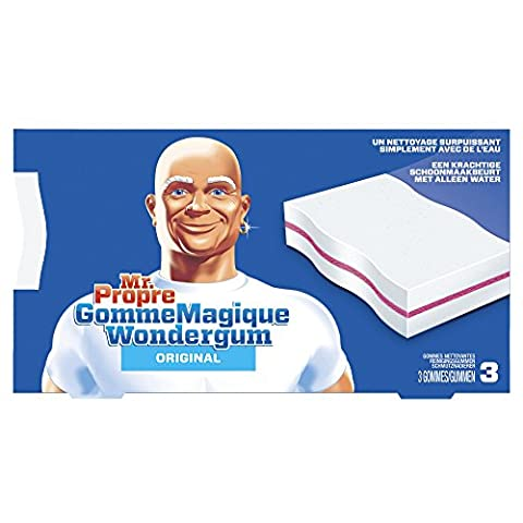 Eponges Magiques - Mr. Propre - Gomme Magique Original Nettoyante