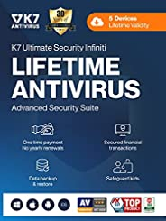 K7 Ultimate Security Infiniti Lifetime Validity Antivirus 2021   5 Devices   Threat Protection,Internet Securi