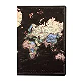 Man of The World Map Retro Style A5 Notebook