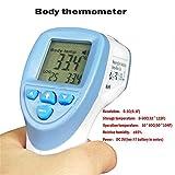 FOUR Termometro a infrarossi Digitale, Temperatura intervallo Automatico termometro a infrarossi per Il Corpo Bambino Temperatura