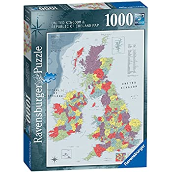British Isles Map Jigsaw Puzzle by James Hamilton Grovely Amazon