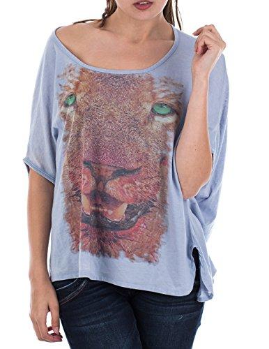 M.O.D Damen T-Shirt SP15-TS147 Blau (Waterfall 1132)