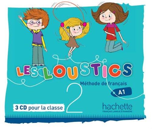 Les loustics 2 : cd audio classe (x3)
