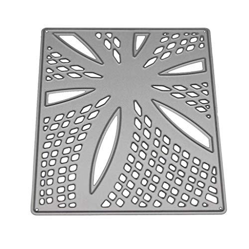 OIKAY Stanzschablone Prägeschablonen Embossing Machine Scrapbooking Schablonen Stanzformen auf Sizzix Big Shot/Cuttlebug/und andere Stanzmaschine anwenden 0423@001
