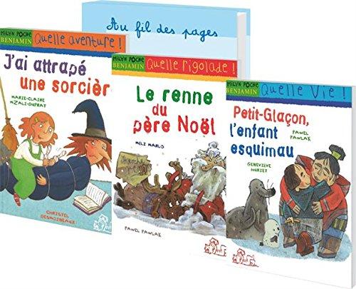 Milan Benjamin : 12 x 3 romans pour la classe : J'ai attrapé une sorcière ; Le renne du père Noël ; Petit-Glaçon, l'enfant esquimau