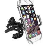 Fahrrad-Telefonhalterung, MBLAI Bike Phone Mount Motorrad Fahrradhalter, 360 Grad drehbare Handyhalterung, Universal ATV, Fahrrad Lenkerhalter für iPhone X/8/7/6, Android Smartphones