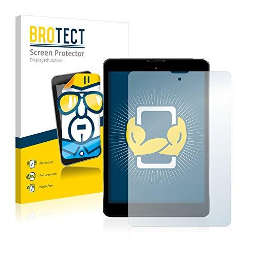 BROTECT Schutzfolie für Kiano Elegance 8 3G [2er Pack] - klarer Bildschirmschutz