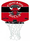 Spalding Nba Miniboard Chicago Bulls (77-649Z) Minibasketballkorb, Mehrfarbig, NOSIZE