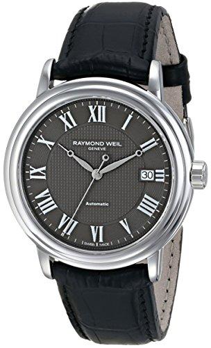 Raymond Weil 2837-STC-00609 - Reloj de pulsera hombre, piel, color marrón