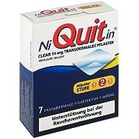 Preisvergleich für NIQUITIN Clear 14 mg transdermale Pflaster 7 St Pflaster transdermal