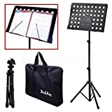 Malayas Heavy Duty Conductor Orchestral Sheet Music Stand Tripod Base Folding Adjustable Height