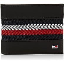 e4a6fc1f80c Tommy Hilfiger Corporate Stripe Hombre Wallet Negro