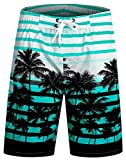 ICEbear Bañadores Hombre Boardshorts Deporte Secado Rápido Bañador Ligero Moda Shorts,Azul,M