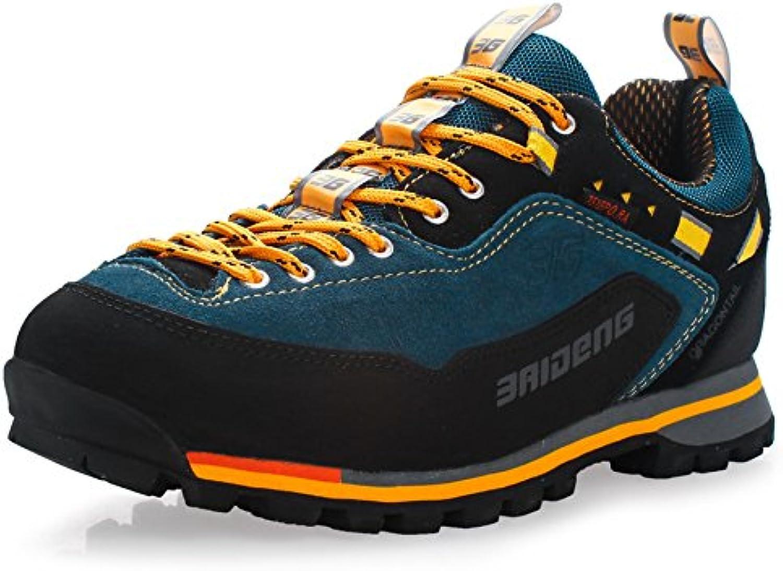 GNEDIAE Para Hombre Botas de Senderismo Impermeables de Ocio al Aire Libre Zapatos de Deporte Zapatillas de Senderismo...