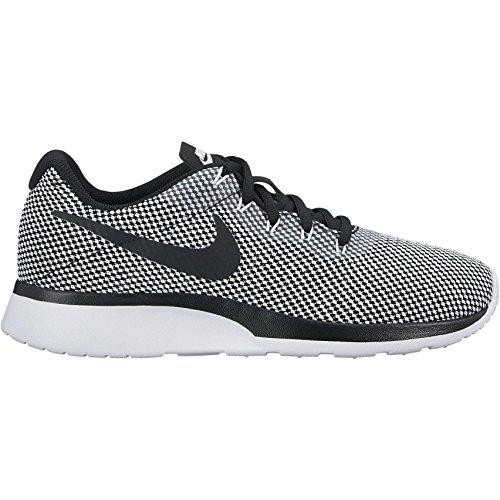 Nike Damen Tanjun Racer Sneaker, Schwarz (Black-White 005), 42 EU (Womens Nike Sneakers)