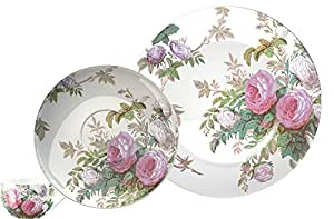 Creative Tops V&A Brompton Rose Fine China Afternoon Tea Set, Multi-Colour