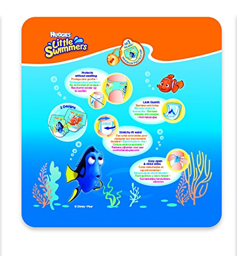 Huggies Little Swimmers Gr.5/6, 2er Pack (2 x 11 Windeln) - 4