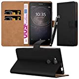 VA Case For Xperia L2 Phone Case Luxury Leather Magnetic