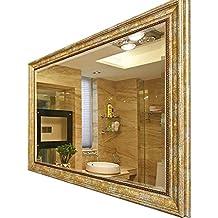 Specchi Grandi Da Parete Moderni.Amazon It Specchio Da Parete Oro