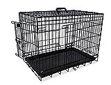 Nobby 62315 Transportkäfig für Hunde Faltbar schwarz 116x77x86 cm
