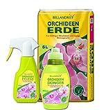 Bellandris Orchideen-Set mit Orchideenerde / Orchideenpflege / Orchideen-Dünger