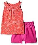 #4: Mothercare Baby Girls' T-Shirt (H9700_Orange_6-9 M)