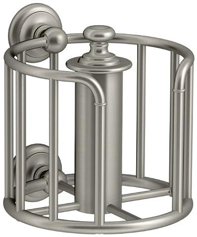 Kohler 72576-bn Artefakte Toilet Tissue Kutsche, Vibrant, Nickel gebürstet (Bn Vibrant Nickel Gebürstet Wc)