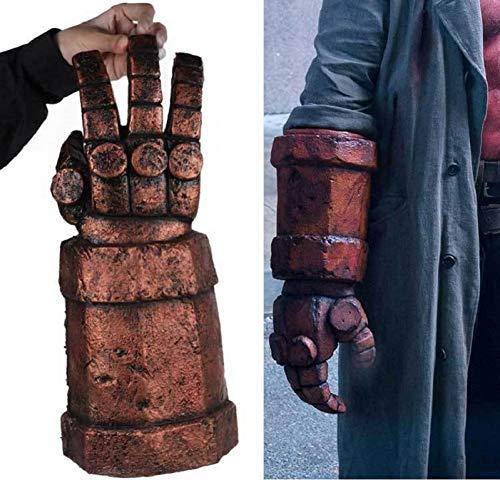 LFIWN Blutmaske Ochsenhornmaske Rechte Hand Cosplay Handschuhe Rüstung Latex Handstulpe Party Drop Ship -