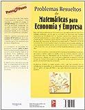 Image de Problemas resueltos de matemáticas para economía y empresa
