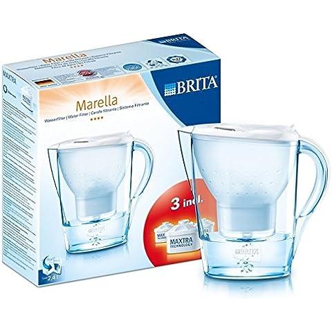 Brita Marella fresca Starter Pack 2.4L, White