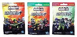 Kre-O G.I. Joe Kreon 3 Pack Bundle includes: Collection 1
