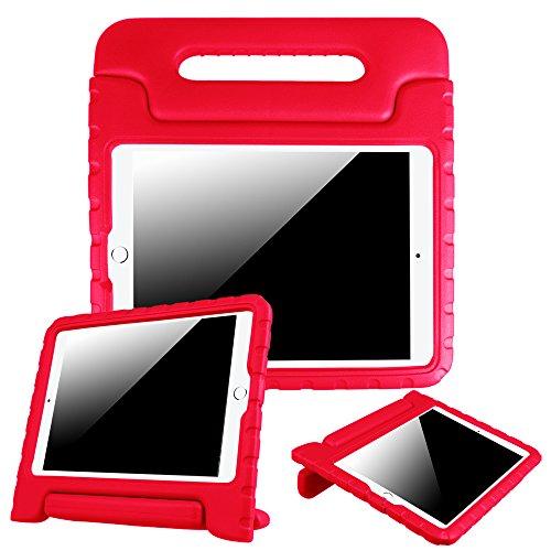 Fintie Neue iPad 24,6cm 2017/iPad Air 2/iPad Air Fall–Serie Kiddie Cabrio Griff Stand Cover für Apple iPad 9,72017Release Tablet, iPad Air, iPad Air 2, Rot