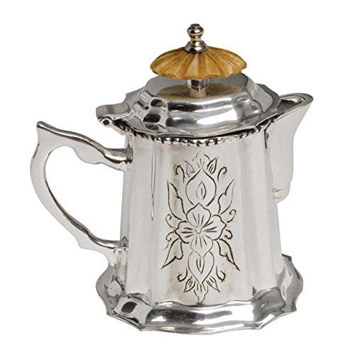 Royal England Jarra de leche de plata Sheffield plata con perilla de marfil cod.630504 cm 9h by Varotto & Co.