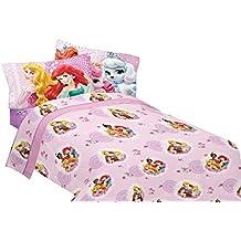 Juego de cama de princesas de Disney Palacio mascotas fabuloso amigos ropa de cama