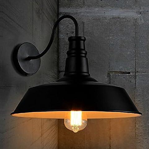 kinine Vintage magazzino rustico applique della parete del tubo luci lampadine Edison 006 lampade da