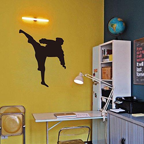 ZRDMN Wandaufkleber Wandmontage Kampfkunst Figuren Jungen Mit Poster Verziert, 58 * 71 Cm Können Kunst Wandbilder Für Schlafzimmer Wohnzimmer Büro Familie Kindergarten Bad Küche