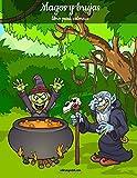 Magos y brujas libro para colorear 1: Volume 1