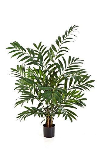 Kunst-Bergpalme DIANDRA mit 305 Wedeln, grün, 110 cm - Kunst Palme / Pflanze künstlich - artplants