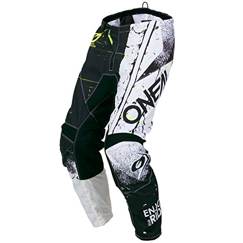 O'Neal Element Shred Kinder Motocross Hose MX Kids All Mountain Bike MTB Downhill Freeride DH FR, 010E-S-Youth, Farbe Schwarz, Größe 24 -